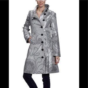 Desigual Long Button Coat